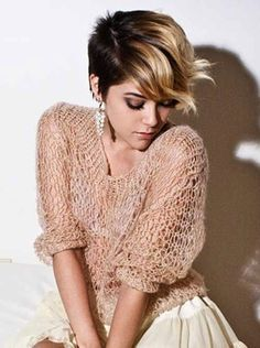 pixie cuts with highlights - Google Search