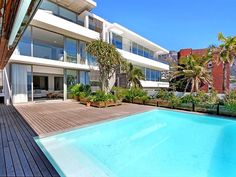 15 Views House - 15 Views House is a luxurious Ibiza-styled villa set in Camps Bay in Cape Town. The villa is situated on the beachfront and guests can spend their days lounging next to the swimming pool, sunbathing on ... #weekendgetaways #campsbay #southafrica