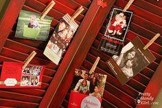 Creative Christmas Card Display Ideas – Hip2Save