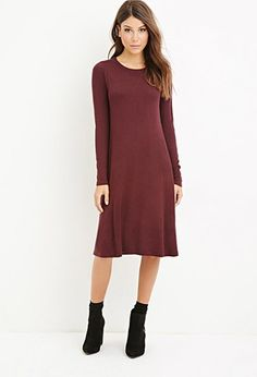 Heathered Midi Dress | Forever 21 - 2000142893