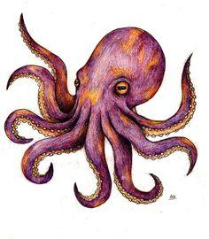Small Octopus Tattoo