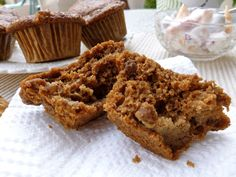 Ina's Chunky Low Fat Banana Bran Muffins - small batch (6)