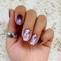 Loving this look with the #octoberhostessexclusivejn gorgeous! #ombrenails