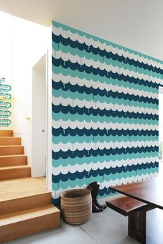 for inside shelves  Scallops ~ Pattern Wall Tiles