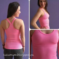 Ebb To Street Tank in Zing Pink,