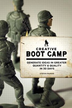 Creative Boot Camp: Generate Ideas in Greater Quantity and Quality in 30 days    By Stefan Mumaw
