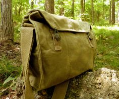 Hey, I found this really awesome Etsy listing at http://www.etsy.com/listing/87819163/vintage-military-messenger-bag