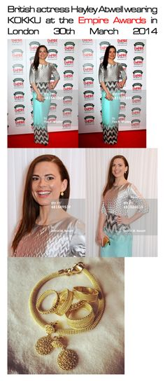 Hayley Atwell wearing KOKKU at Empire Awards 30th March 2014  www.kokku.co.uk