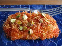 Knafeh - Arabian Cheese Dessert