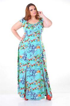 116764 vestido longo estampado ciganinha
