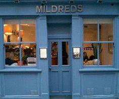 Mildreds vegetarian restaurant, Soho, London