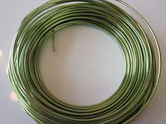 apple green 12 gauge wire (39 feet)
