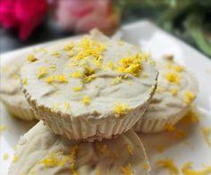Zesty Lemon Cheesecake Fat Bombs