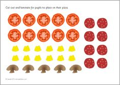 Pizza toppings symmetry activity (SB7138) - SparkleBox