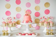 Pink + Gold Party