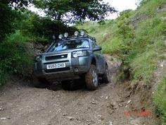 Fun in a Freelander - Land Rover Photos