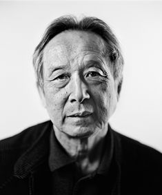 Gao Xingjian (1940) - Chinese émigré novelist, playwright, critic, translator, screenwriter, stage director, and celebrated painter. He won the Nobel Price Literature in 2000. Photo © Christophe Urbain