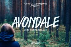 Avondale by Twicolabs Fontdation on @creativemarket