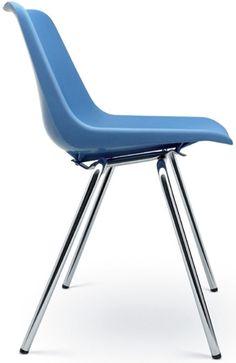 Robin y Lucienne Day. Polypropylene chair, 1963