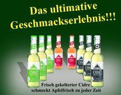Berlin ist momentan the place to be. Und damit man nicht dursten muss, gibts coole, originelle Getränke obendrein. Original Berliner Cidre (OBC) in verscheiden Geschmacksrichtungen, erfirschend anders - wie Berlin.