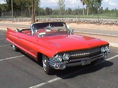 1961 Cadillac Coupe DeVille Convertible