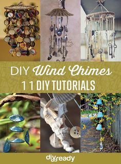 DIY Wind Chimes                                                                                                                                                     More