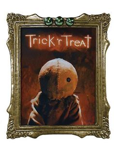 Halloween Party Ideas M37218MO Ominous Trick R' Treat Sam Lenticular Portrait - Ominous Trick R' Treat Sam Lenticular Portrait,    #,    #PartyThemes,    #HalloweenPartyIdeas