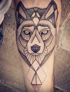 tatuaje lobo pequeño - Buscar con Google