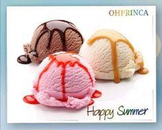 Enjoy Summer, Happy Summer, Ice Cream, Desserts, Food, No Churn Ice Cream, Tailgate Desserts, Deserts, Icecream Craft