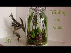 DIY | Frühling im Glas | Frühlingsdeko mit Naturmaterialien | Just Deko - YouTube