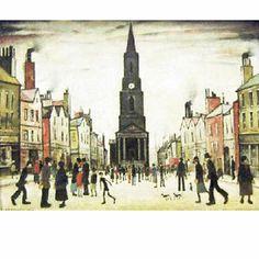 Berwick upon Tweed - LS Lowry