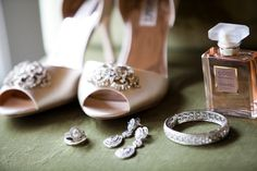 Gorgeous... these are Allie's shoes and similar earrings to the ones she keeps looking at.