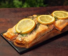 The dill, lemon and smokiest of the cedar wood combine for delicious salmon.This dish is worth giving a go and is super easy.IngredientsSalmonDillLemonSalt and Pepper