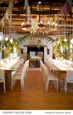 Simple & minimalist wedding decor | Photographers: Shoot & Create, Wedding Venue: Langkloof Roses
