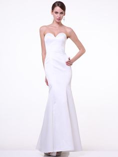 Strapless Sweetheart Mermaid Gown. Long Mermaid Sexy Plus Size Fitted  Bridesmaids Prom Formal Dress 4fb19aa57e58