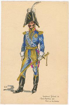 Naples; Adjutant General, 1812