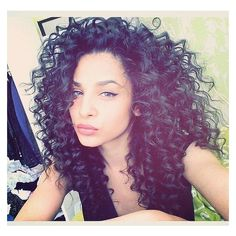 Afro hair of girls ❤ liked on Polyvore featuring hair