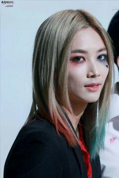 Jeonghan 정한 as Harley Quinn