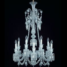 Baccarat - Zenith Chandelier 2606559 - luxury crystal lighting on select-interiormarket.com
