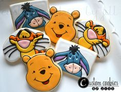 Winnie the Pooh Tigger Eeyore | Flickr - Photo Sharing!http://customcookiesbyjill.com/