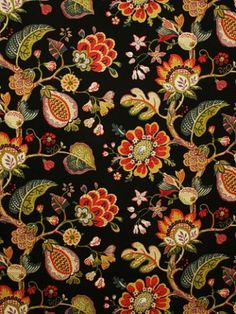 fabric (Pindler & Pindler fabric Pattern #P1152-Ojai color Ebony) used and made famous as bedspread on New Girl