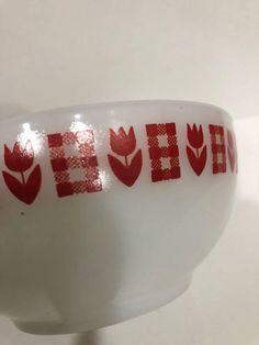 Red tulip termicrisa bowl