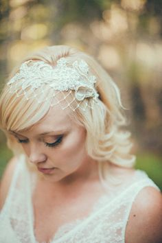 Birdcage Veil, Ivory English Net, Merry Widow Veiling, Bridal Birdcage Veil Headband, Wide Net Veil, Lace Headband Veil, Pearl Lace - 109BC