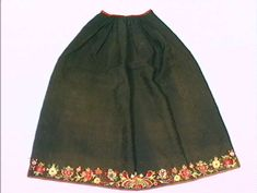 Forkle Folklore, Embroidery, Skirts, Fashion, Moda, Fashion Styles, Drawn Thread, Skirt
