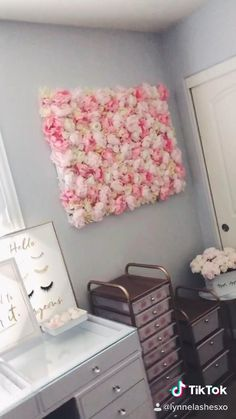 Diy Bedroom Decor For Teens, Cute Diy Room Decor, Cheap Room Decor, Diy Crafts For Home Decor, Teen Room Decor, Room Ideas Bedroom, Diy Bedroom Organization For Teens, Diy Beauty Room Decor, Girls Bedroom