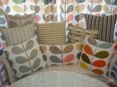 Handmade VARIOUS DESIGN Cushion cover using orla kiely bedding fabric #ORLAKIELYBEDDINGFABRIC