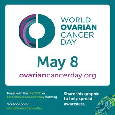 Join the global movement to raise awareness about ovarian cancer, starting with the people in our own lives. Every woman is at some risk for ovarian cancer – awareness is still the best defense against this disease. Sign the pledge to build one voice for every woman on World Ovarian Cancer Day