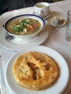 pot pie and soup Dragonfly Cafe & Bakery
