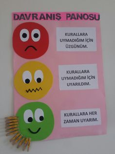 Davranış panosu Art Classroom Rules, Teacher Classroom Decorations, School Decorations, Toddler Arts And Crafts, Preschool Arts And Crafts, Preschool Activities, Preschool Decor, Kindergarten Class, Class Decoration