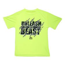 Unleash The Beast Tee, Bright Yellow, Medium in color Bright Yellow.